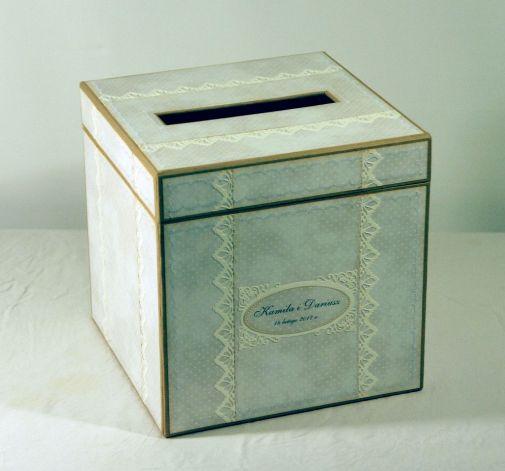 Pudełko ślubne na koperty #1