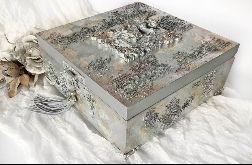 Szkatułka, pudełko vintage Fairy