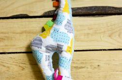 Żyrafa w Niebieskie Hipcie