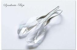 Kolczyki Swarovski Wing 23mm Crystal