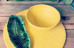 Zestaw ceramiczny yelow mat