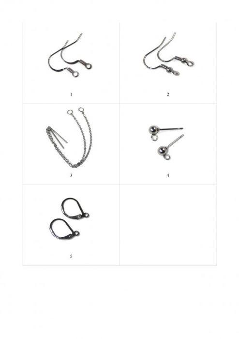 Kolczyki- jesienne liście art.5