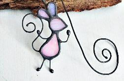 Zakładka do książki myszka Lila Tiffany
