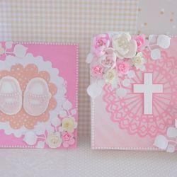 Kartka w pudełku Chrzest Święty