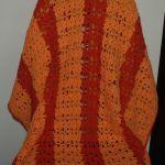 Pomarańczowy pled 100 x 100
