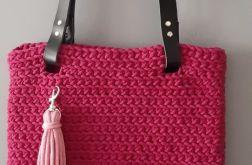 Torebka ze sznurka bawełnianego shopperka