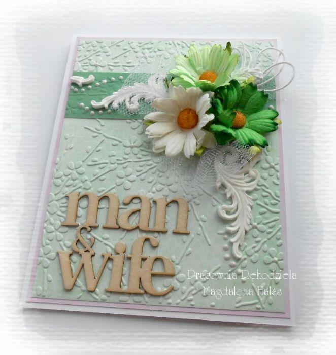 Man & wife, kartka dla pary