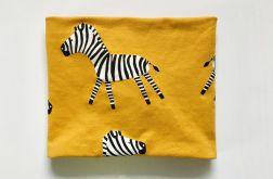 Komin Musztardowa Zebra