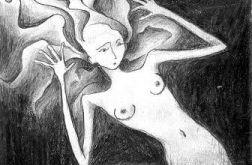 Syrenka 2 - oryginalny rysunek 0206