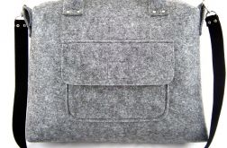 Straight grey bag