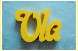 Drewniane Imię Ola