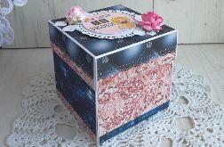 Exploding box na 18stkę + kartka na 18stkę