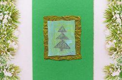 Kartka świąteczna minimalizm nr 11