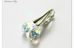 Kolczyki Swarovski Drop 15mm Crystal AB*