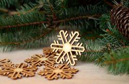 Śnieżynki #6 - bożonarodzeniowe dekoracje