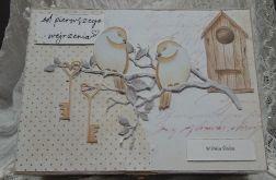 Drewniane pudełko na ślub