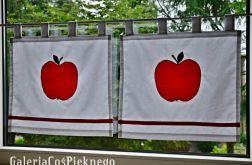 zazdrostka firaneczka ozdoba zasłonka jabłko