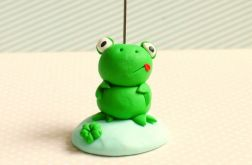 Żabka 3D - stojaczek na zdjęcie