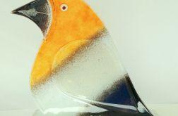 Ptak ze szkła fusing