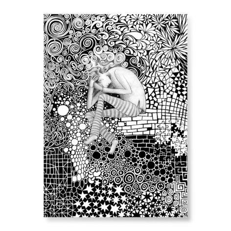 Wzory - plakat A3