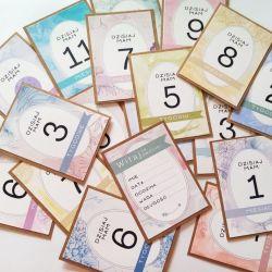 karty do zdjęć - kolorowy zestaw