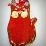Kot wiszący ceramiczny