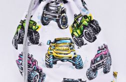 Worek szkolny worek na buty monster truck