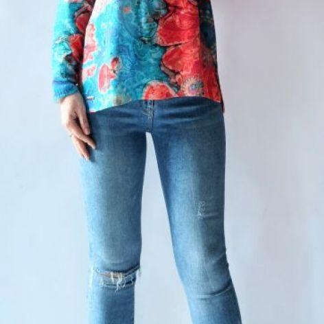 Sweter letni oversize 01