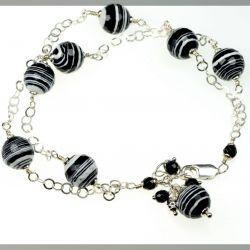 Srebro Zebra Stone