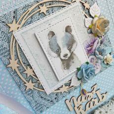 Album mini dziecięcy chrzest narodziny GOTOWY