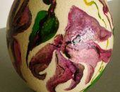 Jajo Strusie - Malowane