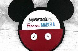 Zaproszenie na Roczek Mickey ZUD 001