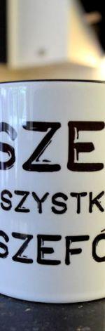 KUBEK SZEF z CZARNYM WNĘTRZEM 1