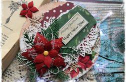 Kartka bombka Boże Narodzenie vol 1