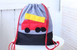 Worko/plecak straż do przedszkola z imieniem