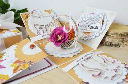 Box ślubny - Jesienne kwiaty