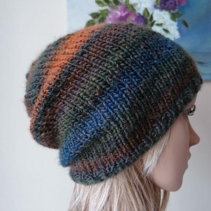 Jesienne morze czapka