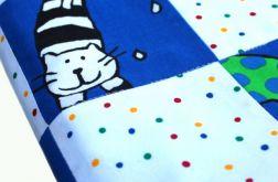 """Patchwork do łóżeczka dziecięcego """"Kotki"""""""