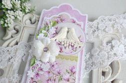 Ślubna kartka w pudełku 246