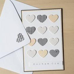 kartka Walentynkowa Kocham Cię