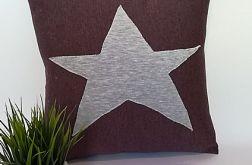 Poduszka z gwiazdą 40x40cm