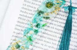 Zakładka do książki - rainbow turkus