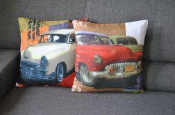 Poszewka dekoracyjna - stare kubańskie samochody I