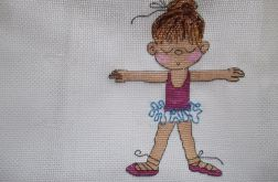 Metryczka -  pamiątka narodzin dziewczynki 3