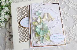 Kartka ślubna w pudełku 266