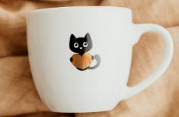 Kubek - Kot ze złotym sercem
