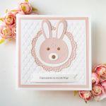 Zaproszenia na chrzest, roczek - królik - urocze, wyjątkowe, oryginalne