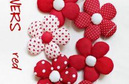 FLOWERS - girlanda wersja RED