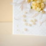 Kartka ślubna w eleganckim pudełku