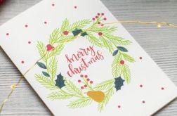 Oryginalna kartka świąteczna VINTAGE 3